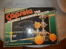 Used Vintage Capsela 700 56 Motorized Toy Discovery System Water & Land Parts