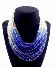 COPPOLA e TOPPO MULTIFACETED BEADS NECKLACE!