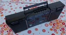 1986er PHILIPS D 8164/30 Stereo Radio Recorder Ghettoblaster Boombox TOP