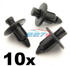 10x Toyota MR2 Trim Clips For Front Luggage Compartment Frunk & Spare Wheel Area