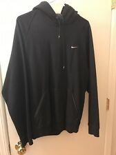 Men's Black Pull Over Nike Hoodie Size Medium