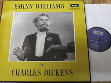 TA 507-8 Emlyn Williams as Charles Dickens 2 LP box