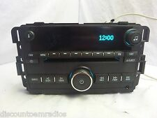 06 07 Buick Lucerne Radio CD Player Factory OEM Aux Input 15871700 JB690