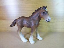s100- Schleich Pferd- 13272 - shire Fohlen / foal