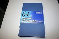 Maxell DigiBeta D64L Digital Betacam Kassette, NEU!