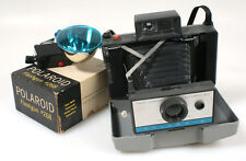 POLAROID 210 W/ POLAROID FLASH GUN #268 IN ORIG. BOXES
