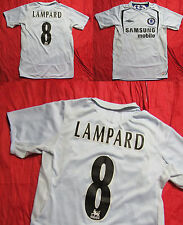 Frank Lampard #8 CHELSEA LONDON away shirt jersey ADIDAS 2005-2006 adult S