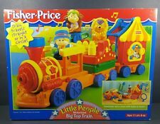 Vintage Fisher Price Little People Motorized Big Top Train