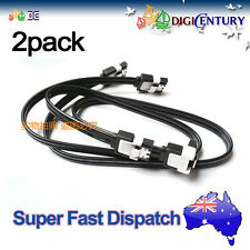 2 x SATA 3.0 III ASUS High Speed 6GB/s Data Cable Straight & Angle Plug for HDD