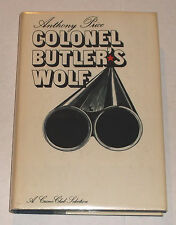 COLONEL BUTLER'S WOLF hc US 1st ed ANTHONY PRICE crime club DOUBLEDAY 1973