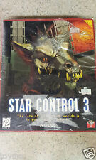 RARE CHINESE Version Star Control 3 PC CDROM Accolade 1996 Windows 95/3.1 MS-DOS