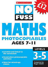 Maths Photocopiables Ages 7-11: Levels 3-5 by Scholastic (Paperback, 2006)