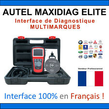 AUTEL MAXIDIAG ELITE 802 Valise Diagnostique MULTIMARQUES PRO Diag Valise OBD2