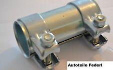 Connettore per tubi/Morsetto doppio 50,5mm x 125mm AUDI 100/80/a3/a4/a6, Seat, ecc.