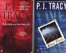 Complete Set Series - Lot of 6 Monkeewrench books by P.J. Tracy Suspense Fiction