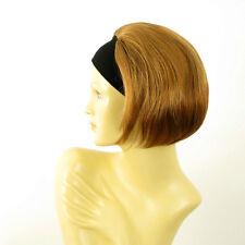 Perruque avec bandeau blond foncé cuivré ref AMANDA en G27