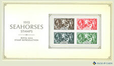 2013 Seahorses 1913 Facsimile Reproduction Stamp Presentation Pack PPR5
