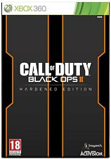 Call OF DUTY BLACK OPS II 2 HARDENED EDITION XBOX 360 * Nuovo e Sigillato *