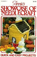 Annie's Showcase of Needlecraft Quick & Easy Projects crochet patterns