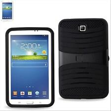 Black Heavy Duty Armor Box Military Case w/Stand for Samsung Galaxy Tab 3 7 INCH