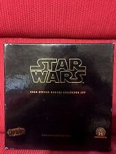 Star Wars™ COMPLETE COLLECTION Metal Badges LIMITED EDITION Very Rare FULL SET
