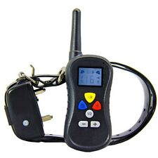 Remote Vibration Shock Training Electronic Dog Collar for L& M Dog EU Plug