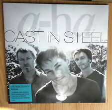 A-HA  LP: CAST IN STEEL ( NEU;DOWNLOAD CODE FOR COMPLETE DIGITAL DELUXE EDTION)