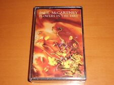 PAUL McCARTNEY FLOWERS IN THE DIRT CASSETTE SPAIN RARE! NEW! BEATLES