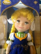 Disney Store Animator's Collection It's A Small World HOLLAND Doll NIB Sings