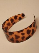 extra wide tortoise shell headband alice band 5cm plastic 6187 hair ladies girls