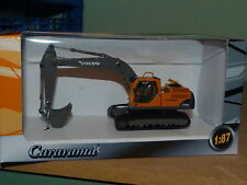 CARARAMA 1:87 Volvo EC240B Tracked Excavator