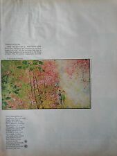 1967  Debeers Diamond Is Forever Into Tomorrow Cheen Chi Original Print Ad