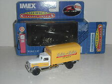 Imex Golden Wheels American Classic Trucks  Peterbilt Huber and Huber Express