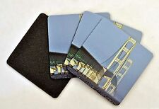 100 non slip coasters personalized your photo neoprene rubber weddings party