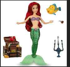 Ariel little mermaid Deluxe Talking singing Doll Set - 11'' Disney Store