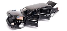 "1/24 2001 Die-Cast Cadillac Presidential Limo ""Bush"" by Lucky Model MIB"