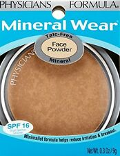 Physicians Formula Mineral Wear Talc-Free Face Powder BRONZER 3837 9g SPF 16 NEW