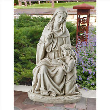 Saint St Anne Ann Mother of Mary Jesus Garden Statue Religious Catholic Art Gift