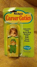 Career Cuties Matchpack Doll World Hong Kong Nurse Nancy MIP  1980's