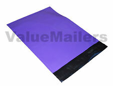 100 10x13 DARK PURPLE Poly Mailers Shipping Envelopes Boutique Quality Bags