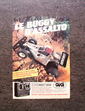 K997-Advertising Pubblicità-1986- BUGGY D'ASSALTO , GIG BUGGY