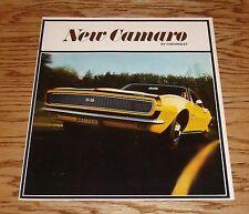 Original 1967 Chevrolet Camaro Sales Brochure 67 Chevy