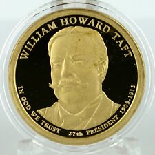 2013 S William Howard Taft Proof Dollar in Archival Crystal Clear Coin Capsule