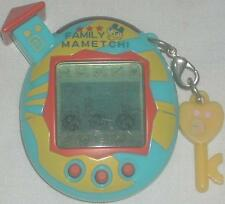 Bandai Tamagotchi Game Family Mametchi Light Blue, Yellow & Red 2004