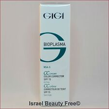 GiGi Bioplasma CC Cream Color Corrector SPF15 Oil free 75 ml