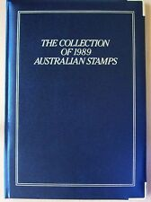 1989 AUSTRALIAN YEAR COLLECTION OF STAMPS IN FOLDER
