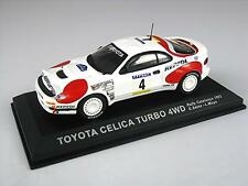 TOYOTA CELICA TURBO 4WD SAINZ CATALUNYA RALLY 1992 DEL PRADO CR106 1:43 NEW
