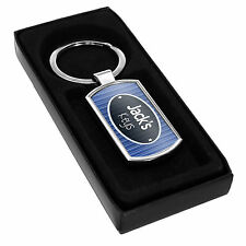 Personalised BOYS KEYRING - Add your own name Gift Idea Son Door keys car fob