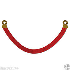 1 HOLLYWOOD Movie Awards Night Party Decoration Red TISSUE STANCHION ROPE 8ft