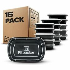 Fitpacker Meal Prep Containers BPA-Free Food Storage & Portion Control [28oz-16]